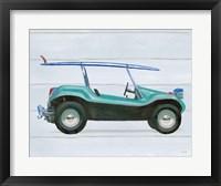 Beach Ride IX Framed Print