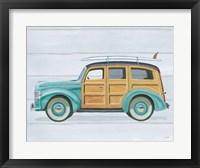 Beach Ride VIII Framed Print
