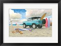 Beach Ride I Framed Print