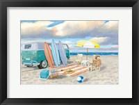 Beach Ride II Framed Print