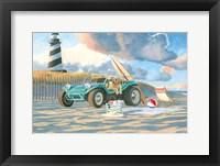 Beach Ride IV Framed Print