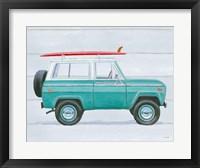 Beach Ride VII Framed Print