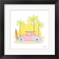 Beach Cruiser II Framed Print
