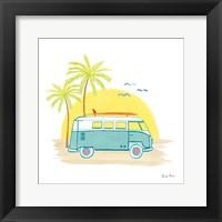 Beach Cruiser I Framed Print