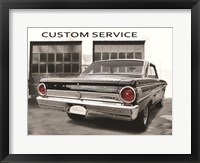 Framed 1964 Ford Falcon