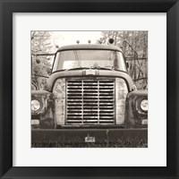 Framed Retired Truck II