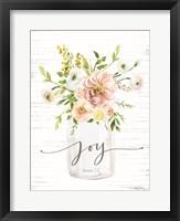Framed Joy Floral