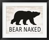 Framed Bear Naked