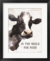 Framed In the Moo-d for Food