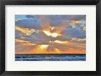 Framed Sunrise Drama