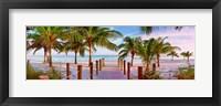 Framed Swathers Beach