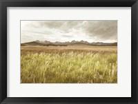 Framed Sawtooth Mountains Idaho II