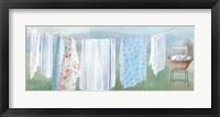 Framed Laundry Day IX