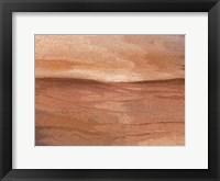 Abstract Desert I Framed Print