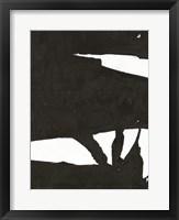 Black & White Abstract 1 Framed Print