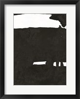 Black & White Abstract 2 Framed Print