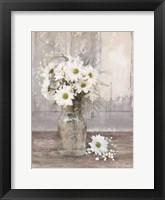 Farmhouse Floral II Framed Print