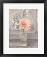 Farmhouse Floral IV Framed Print