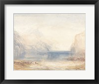 Tranquil Coast 4 Framed Print