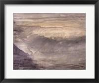 Sunset Surf 1 Framed Print