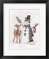 Framed Frosty Friends I