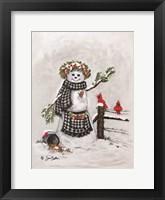 Framed Frosty Friends II