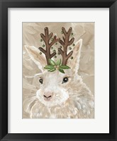 Christmas Bunny Framed Print