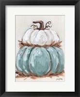 Pumpkin Stack II Framed Print