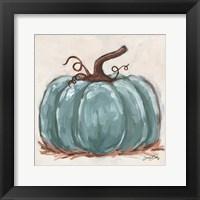 Pumpkin Close-Up III Framed Print
