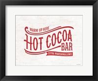Framed Hot Cocoa Bar