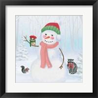Dressed for Christmas IV Crop Framed Print