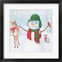 Dressed for Christmas I Crop Framed Print