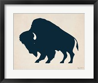 Framed Buffalo Bison I