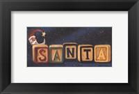 Framed Santa Blocks