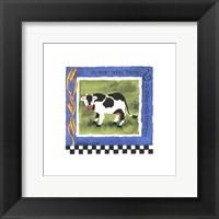 Moo Moo Framed Print