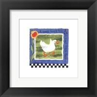Quack Quack Framed Print