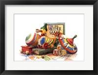 Waiting to Have Fun I (Ap) Framed Print