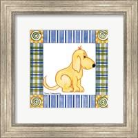 Framed Pup Prints II