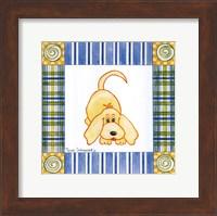 Framed Pup Prints III