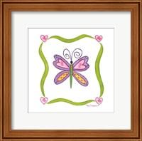 Framed Lovebugs-Butterfly