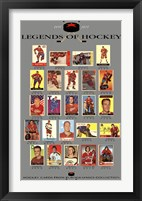 Framed Legends of Hockey