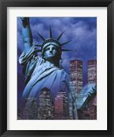 Framed Statue of Liberty Ny