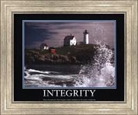 Framed Motivational - Integrity