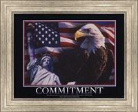 Framed Motivational - Commitment