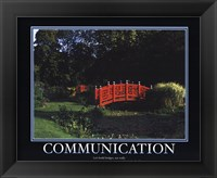 Framed Motivational - Communication