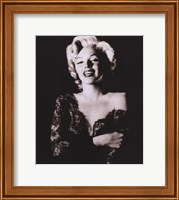 Framed Marilyn Monroe - dark portrait
