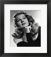 Framed Rita Hayworth