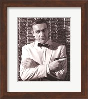 Framed Sean Connery