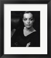 Framed Romy Schneider