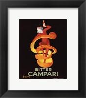 Framed Bitter Campari